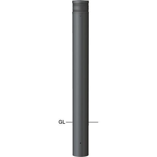 メーカー直送 サンポール ボラード  [V-F360U] φ114.3(t4.5)×H850mm SUNPOLE