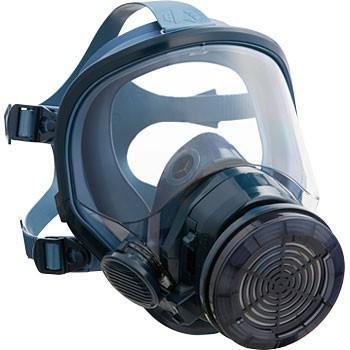 興研 全面形電動ファン付き呼吸用保護具 サカヰ式 BL−711H−03  充電器付き【北海道、沖縄、離島以外送料無料】