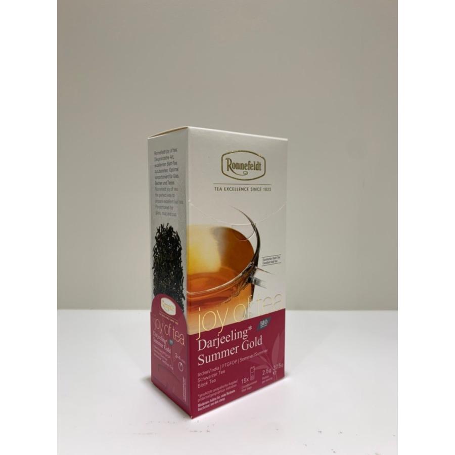[ジョイオブティー] ダージリンサマーゴールド 15枚  Joy of tea DARJEELING SUMMER GOLD ロンネフェルト contenart 02