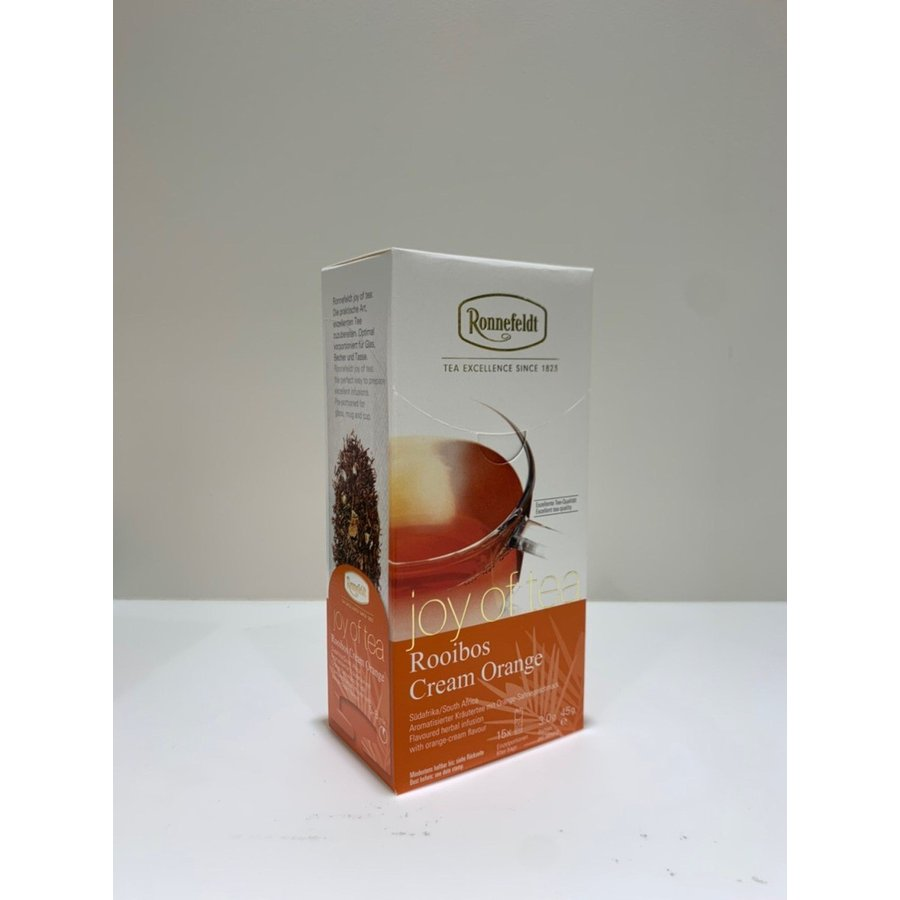 [ジョイオブティー] ルイボス・クリーム・オレンジ  Cream Orange  ロンネフェルト|contenart|02