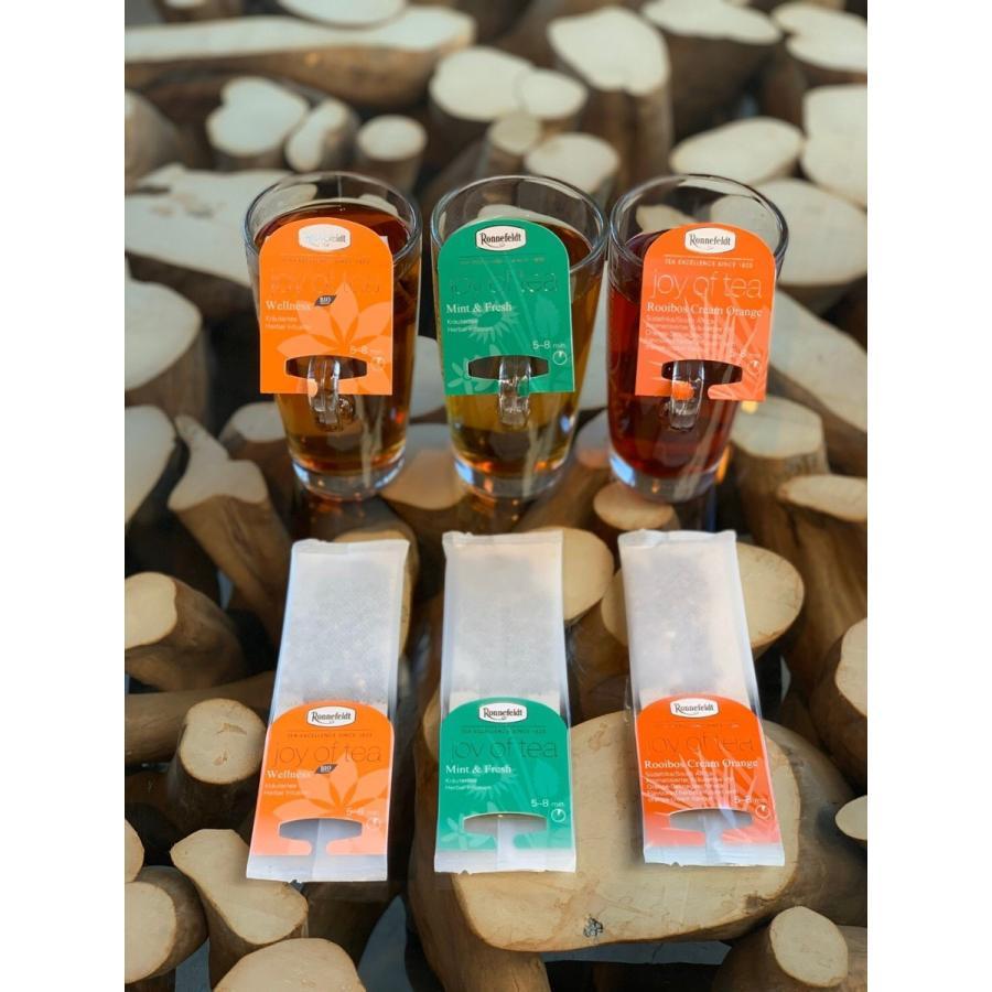 [ジョイオブティー] ルイボス・クリーム・オレンジ  Cream Orange  ロンネフェルト|contenart|04