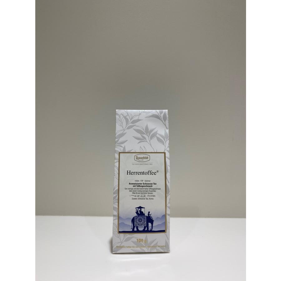 ヘーレントッフィー(ブラックトッフィー) 100g  HERRENTOFFEE(BLACKTOFFEE) ロンネフェルト contenart