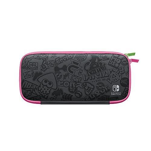 Nintendo Switchキャリングケース スプラトゥーン2エディション (画面保護シート付き)