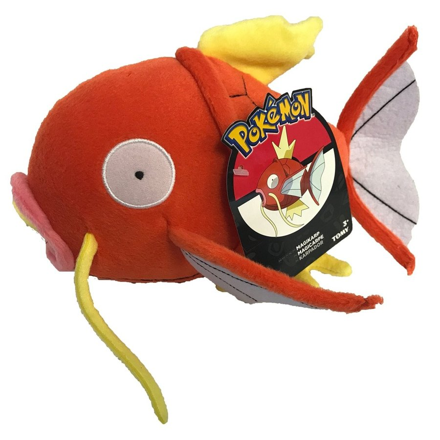 Official Licenced 20cm Pokemon Magikarp Plush with Tags from TOMY
