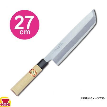 青木刃物 堺孝行 霞研 骨切(鱧切) 27cm 06074(名入れ無料)(送料無料、代引OK) cookcook