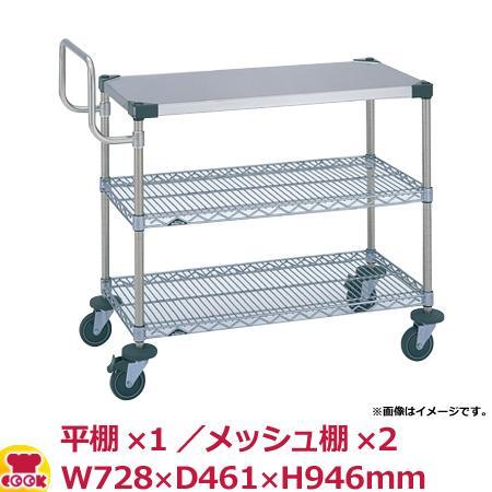 エレクター UTTカート1型(ティルトサイド)NUTT0SL-S W728×D461×H946(送料無料、代引不可)