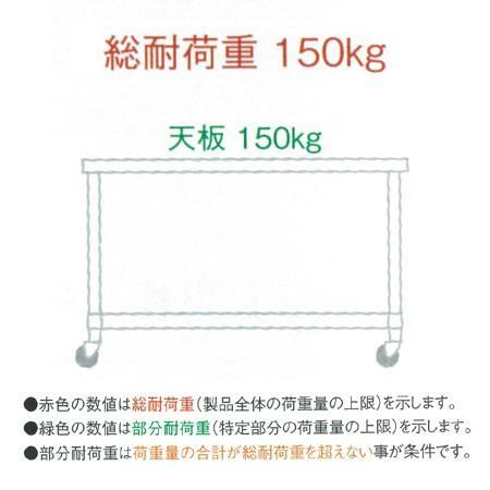 シンコー 作業台 SUS304 WDHNC-6060 片面引出1個・H枠 600×600×800(送料無料、代引不可)|cookcook|02