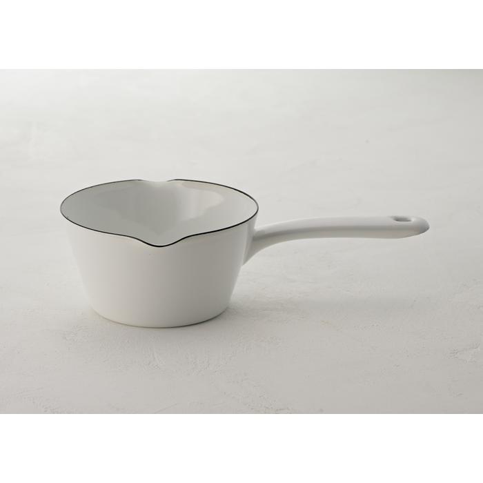 富士ホーロー 目盛付き ミルクパン 14cm ホーロー 全3色 0.8L メモリ付き 片手鍋 ホーロー鍋|cooking-clocca|05