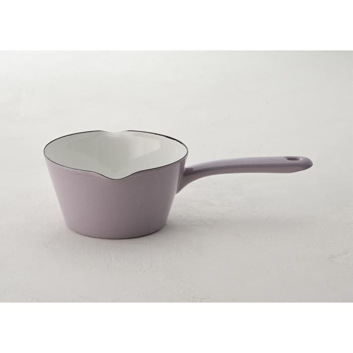 富士ホーロー 目盛付き ミルクパン 14cm ホーロー 全3色 0.8L メモリ付き 片手鍋 ホーロー鍋|cooking-clocca|06