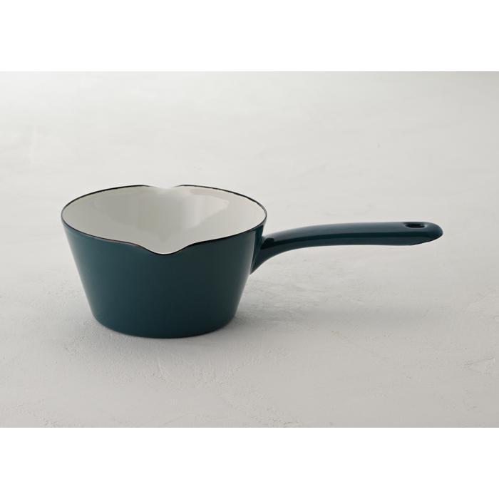 富士ホーロー 目盛付き ミルクパン 14cm ホーロー 全3色 0.8L メモリ付き 片手鍋 ホーロー鍋|cooking-clocca|07
