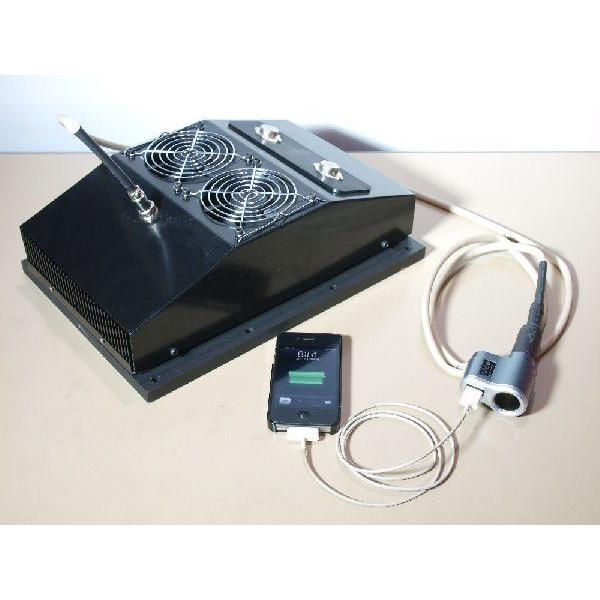 熱電発電機 薪ストーブに載せて発電+自己発電でファンを回し温風を送風 coolisland 04
