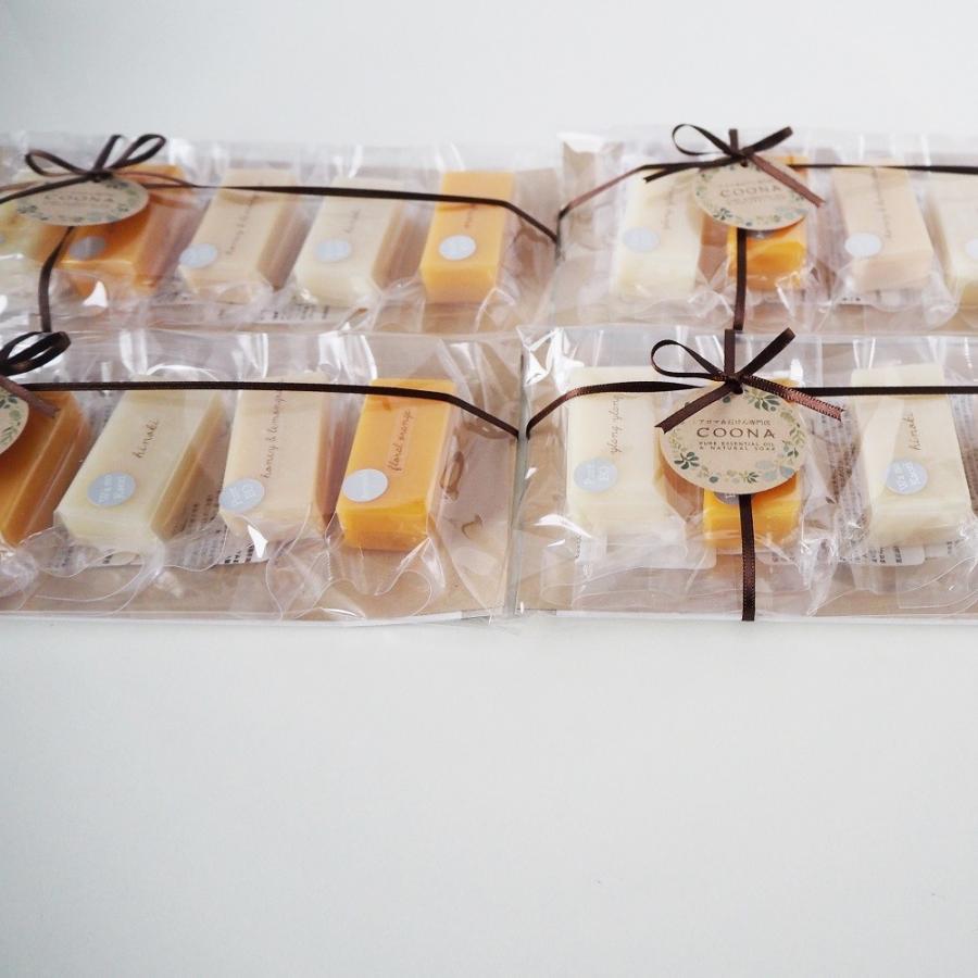 お試し 石けん 5セレクションパック 洗顔石鹸 固形石鹸 自然派 コールドプロセス 手作り せっけん ギフト セット 日本製 coona 06