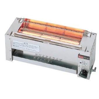 業務用ガス赤外線グリラー リンナイ RGK-61D 下火式 串焼61号 コンパクト45 赤外線バーナー(シュバンク) [≦【店販】]