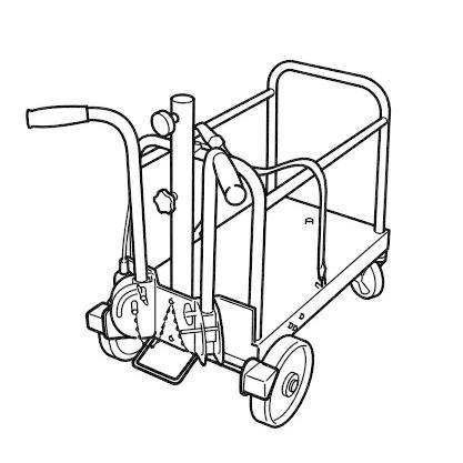 ワキタ 投光器ぼんぼり君 WAKITA-WBR-36 台車 サニーライト メイホーシリーズ [♪■]