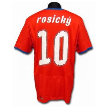 2008/10チェコ ホーム #10・ロシツキー 半袖ユニフォーム<プーマ> copa-mundial 02