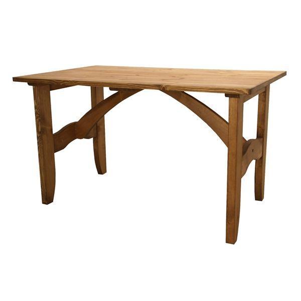 大人気ダイニングテーブル 長方形 木製(パイン材/オイル仕上) CFS-512