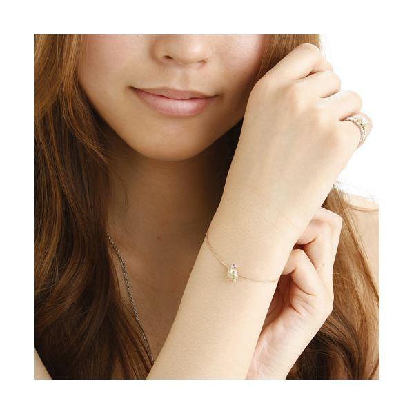 大人気amelie mon chouchou Priere K18 誕生石ベビーリングネックレス (4月)ダイヤモンド|corebrain|03