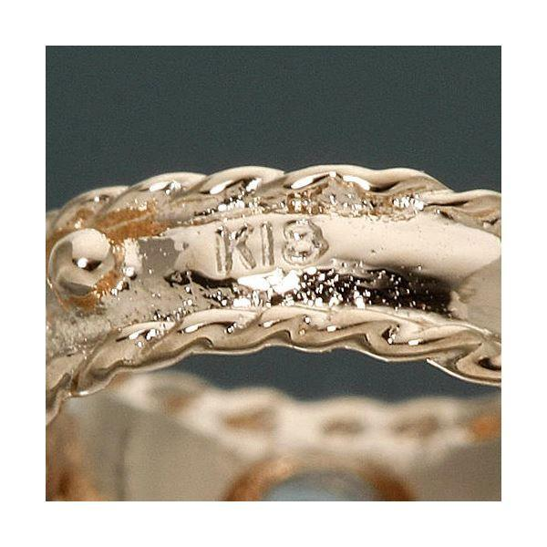 大人気amelie mon chouchou Priere K18 誕生石ベビーリングネックレス (4月)ダイヤモンド|corebrain|04