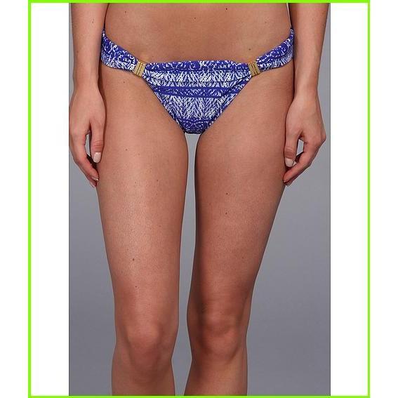Vix Carioca Bia Tube Full Bottom Vix Swimsuit Bottoms WOMEN レディース 青