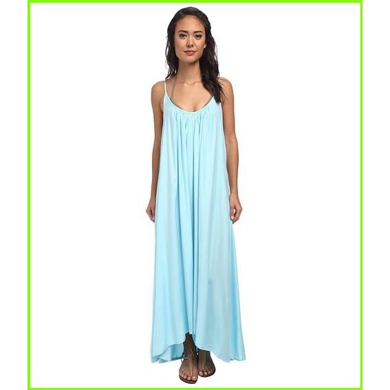 Vince Camuto The Whimsical Garden Cover Up Maxi Dress Vince Camuto Cover Ups WOMEN レディース 青 Sky