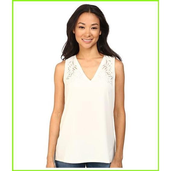 超高品質で人気の NYDJ レディース Blouses Modern Embroidered Sleeveless Sleeveless Blouse NYDJ Blouses WOMEN レディース Vanilla, スマコレ:49f618ce --- opencandb.online