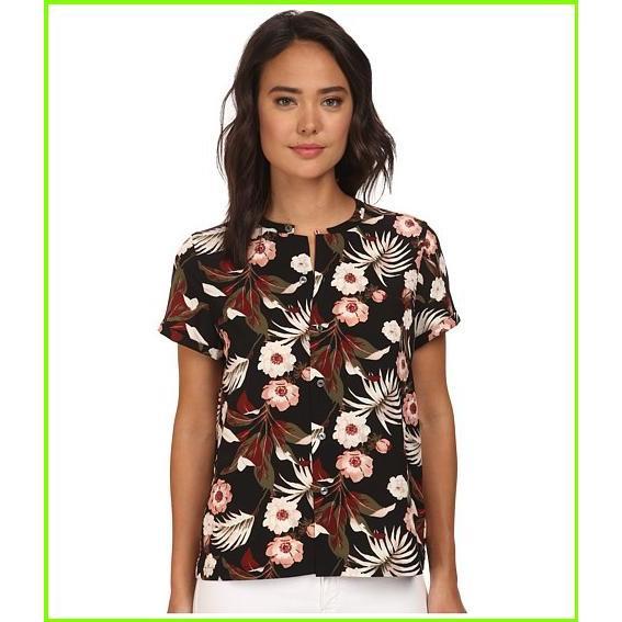 格安人気 Maison Silky Scotch メゾンスコッチ Silky Feel Printed Top メゾンスコッチ Blouses Top WOMEN レディース Print, サナダマチ:703cec08 --- sonpurmela.online