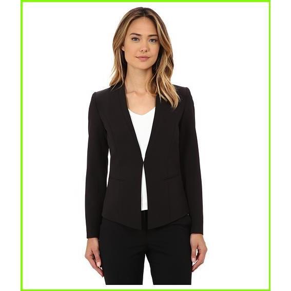 おすすめ Adrianna Papell Marni Clean Seamed Blazer Adrianna Papell Blazers & Jackets WOMEN レディース Black, ROZEBE 7074e26f