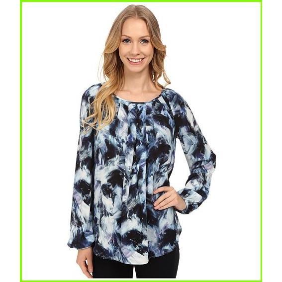 海外最新 Karen Kane Northern Lights Pleated Northern Blouse Karen Kane Lights Karen Blouses WOMEN レディース Print, アダチク:293629b6 --- fresh-beauty.com.au