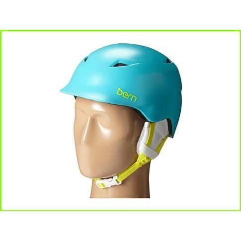 Bern Camina Bern Helmets WOMEN レディース Satin Aqua 緑/白い Liner