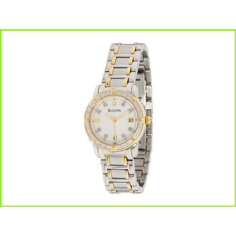 【在庫あり】 Bulova Ladies Sport/Marine Star 98R107 ブローバ Fashion Watches WOMEN レディース Stainless Steel/White Face, カーテンインテリア シロヤマ 9b610319