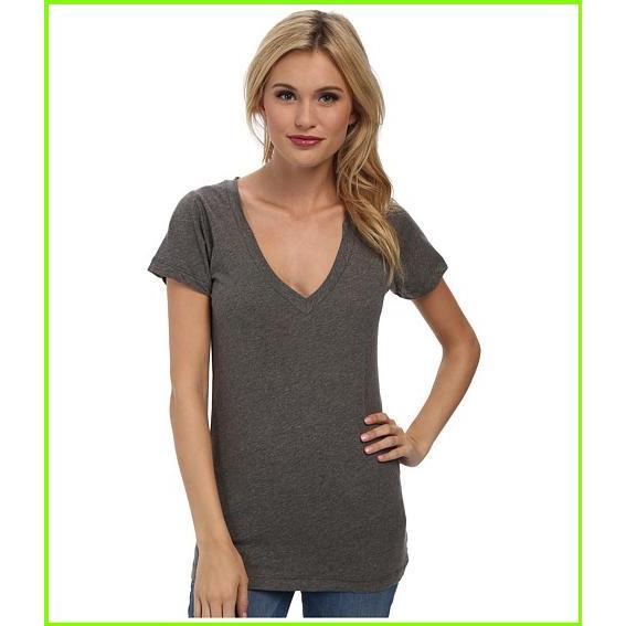 激安 LNA S/S Deep Heather レディース V LNA T Shirts Grey WOMEN レディース Heather Grey, 奥州珈琲 自家焙煎コーヒー専門店:dd78c3a8 --- theroofdoctorisin.com