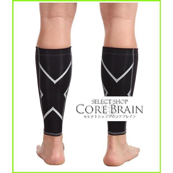 2XU Non-Stirrup Calf Guard ツータイムズユー Swimsuit Bottoms MEN メンズ Black/Black