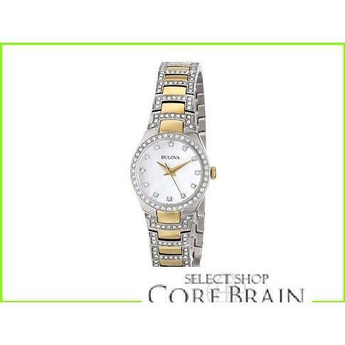 売り切れ必至! Bulova Ladies Crystal - Ladies 98L198 ブローバ Tone Fashion Watches Two WOMEN レディース Two Tone, 稲沢市:d74f9cc8 --- airmodconsu.dominiotemporario.com