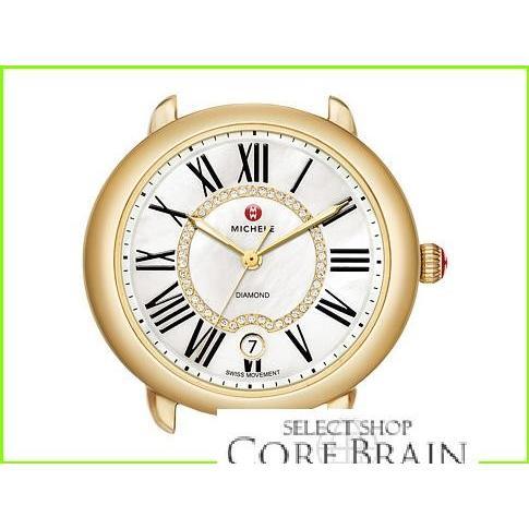 人気No.1 Michele Serein 16 Gold Diamond Dial Michele Luxury Watches WOMEN レディース Gold, 人気定番 b92228eb