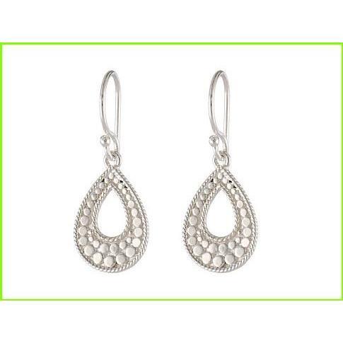 定番  Anna Beck Small Earrings Open Teardrop Anna Earrings Anna Beck Drop Small Earrings WOMEN レディース Sterling Silver, meister-adidas:d55439c9 --- airmodconsu.dominiotemporario.com