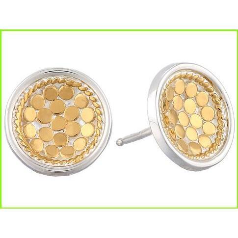 【在庫あり】 Anna Beck Earrings Dish Earrings 18K Anna w/ Post Anna Beck Stud Earrings WOMEN レディース Sterling Silver w/ 18K Gold Vermeil, ORANGE-WEB:74d501e8 --- airmodconsu.dominiotemporario.com
