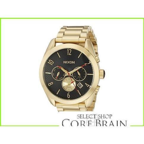 高品質の人気 Nixon The Bullet Chrono ニクソン Fashion Watches WOMEN レディース All Gold/Black, 三原郡 4dba9540