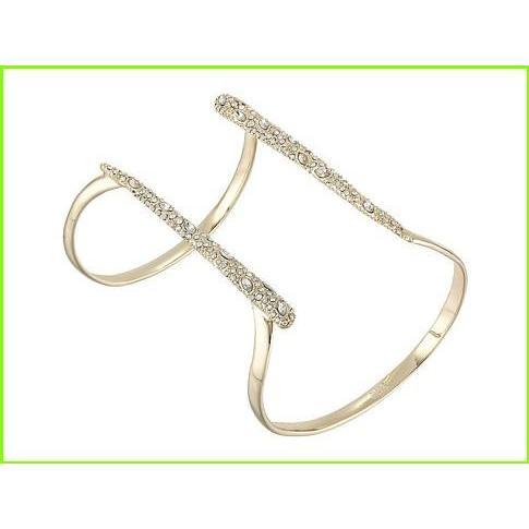 【高価値】 Alexis Bittar Encrusted Parallel Cuff Bracelet アレクシス ビッター Cuffs WOMEN レディース 10K Gold, コガネイシ afde714f