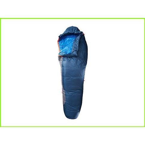 Kelty Dualist 22 Degree 550 Fill Thermadri Sleeping Bag - Long Right Hand ケルティ Sleeping Bags WOMEN レディース Dark Slate