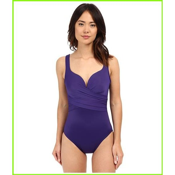 Miraclesuit New Sensations Conundrum One-Piece Miraclesuit One Piece Swimsuits WOMEN レディース Eggplant