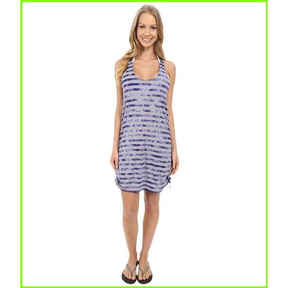 Speedo Tie-Dye Stripe Shir赤 Tank Dress Cover-Up スピード Cover Ups WOMEN レディース Royal 紫の