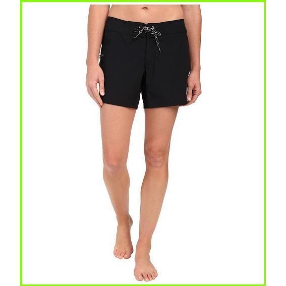 Speedo 4-Way Stretch Boardshorts スピード Swimsuit Bottoms WOMEN レディース Speedo 黒