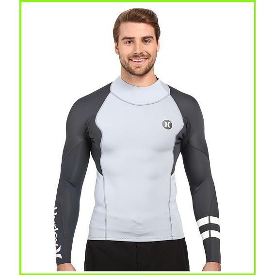【半額】 Hurley Wetsuits Fusion 101 Surf Jacket ハーレー Wetsuits Hurley MEN Jacket メンズ Wolf Grey, 愛媛うまいもの販売:7b036bb8 --- airmodconsu.dominiotemporario.com