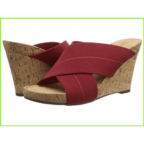 【メール便送料無料対応可】 Aerosoles Party Plush Aerosoles Sandals WOMEN レディース Red Fabric, 北相馬郡 d446ddab