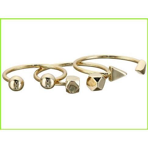 【おしゃれ】 French Connection Bead Midi Ring Set フレンチコネクション Midi Rings WOMEN レディース Gold, 金物畑 c259d14c