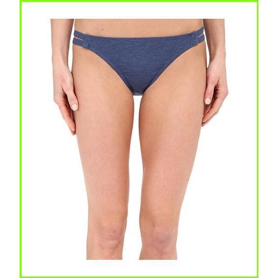Splendid Malibu Stripe Solid Strap Pants Splendid Swimsuit Bottoms WOMEN レディース Navy