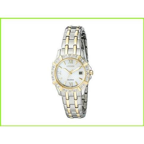 宅配便配送 Citizen Watches EW2364-50A - Eco-Drive Diamond シチズン Fashion Watches WOMEN レディース Two-Tone, 小千谷市 0ed6db27