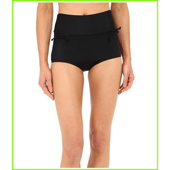 Unique Vintage Gilda High Waisted Bikini Bottom Unique Vintage Swimsuit Bottoms WOMEN レディース 黒