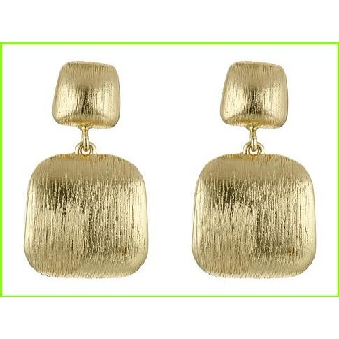 激安ブランド Cole Haan Geometric Post Drop Earrings レディース コールハーン Drop Post Haan Earrings WOMEN レディース Brushed Gold, 当季大流行:922e1401 --- airmodconsu.dominiotemporario.com