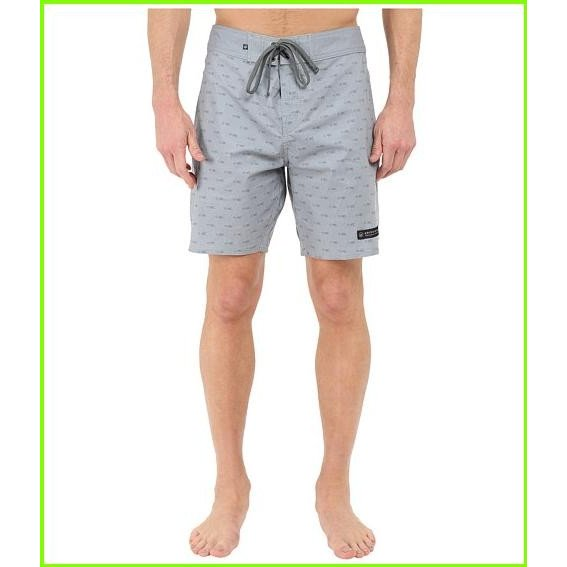 United By Blue Longbow Scallop Boardshorts United By Blue Swimsuit Bottoms MEN メンズ Grey